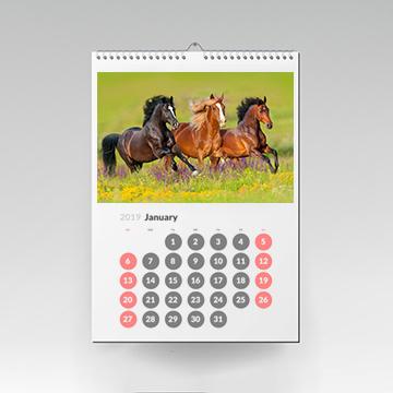Kalendarz wiszący 12-stronny